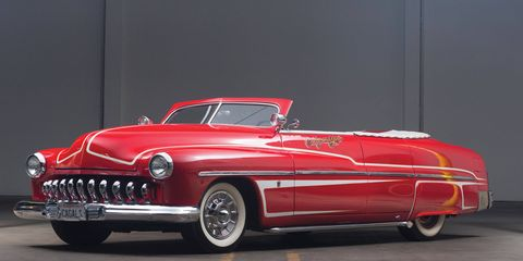 """This customized 1951 Mercury convertible, which sold in 2013 for a mere $30,250, is the car from the """"Panama"""" music video. But it's not the car that inspired the lyrics."""
