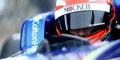 Colton Herta previously raced in the British Formula 3 series.