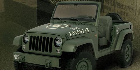 Jeep created this concept to celebrate 75 years since Willys' first government contract.