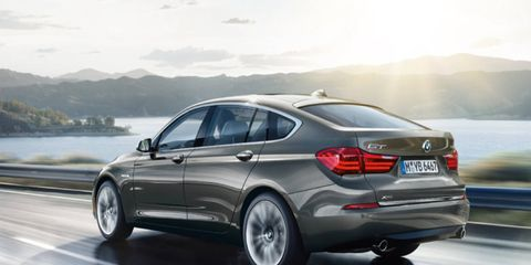 Bmw 5 Series Gt Gets A New Name And