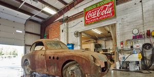 For two car guys in Iowa, this rusty relic is the ultimate, literal barn find -- and a potential gold mine.