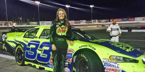 Nicole Behar was a member of the NASCAR Next Class of 2015 -- a group of young racers identified by NASCAR as the future of the sport.