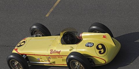 The Belond Exaust Special is one of the most successful and unique cars in Indy 500 history.