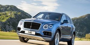 The Bentayga Diesel will pump out 429 hp and 664 lb-ft of torque, enough for sprints to 60 mph in just 4.6 seconds and a top speed of 168 mph.