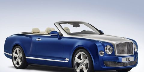 """""""This concept demonstrates Bentley's ability to create a pinnacle convertible,"""" said Bentley CEO Wolfgang Dürheimer, """"while embodying elegance beyond compare."""""""