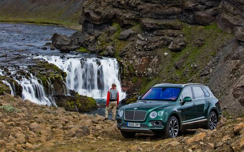 Bentley creates the ultimate luxury car for fly fishing enthusiasts.