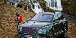 Hand-crafted by Bentley's bespoke coachbuilding division, the Bentayga Fly Fishing by Mulliner houses all the equipment required for your fishing trip.