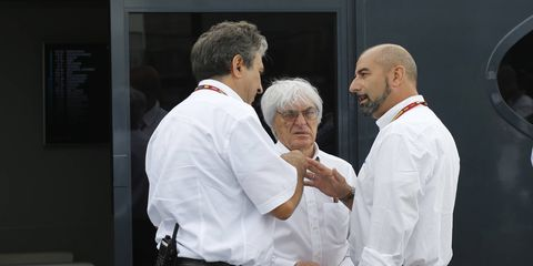 Formula One chief Bernie Ecclestone can now concentrate on running the racing series.