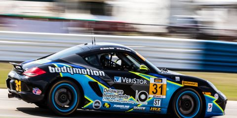 The Bodymotion Racing' Bodymotion ST Porsche Cayman is set for a full season in the IMSA Continental Tire SportsCar Challenge ST class.