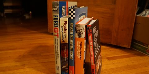 Whether for birthdays or holidays, the car enthusiast in your life will love any of these books (plus two others not pictured here!).
