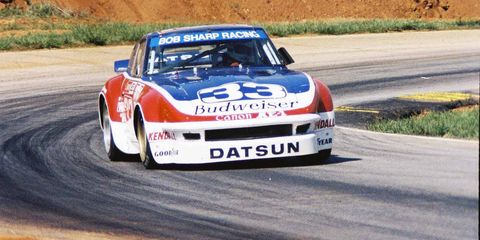 Newman started racing late in life, when he was in his forties.