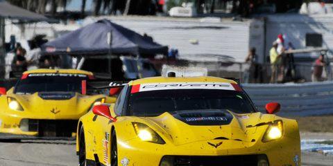 Ryan Briscoe drove for Corvette Racing in the Tudor United SportsCar Championship race at Sebring in March.