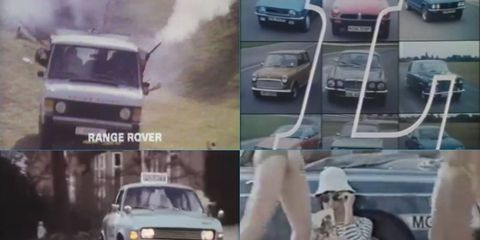 From rozzers in an Allegro to drive-by shooters in a Range Rover, British Leyland had it all.
