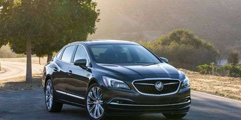 The new 2017 LaCrosse is still fighting for that coveted Consumer Reports reliability check mark, but the Buick brand has entered the top three in overall reliability -- a first for an American automaker.