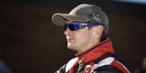 NASCAR Sprint Cup driver at Dover International Speedway in Sept. -- the same weekend the alleged assault against ex-girlfriend Patricia Driscoll took place.