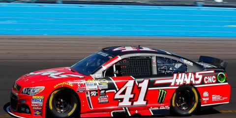 Kurt Busch made his season debut in the NASCAR Sprint Cup Series on Sunday.