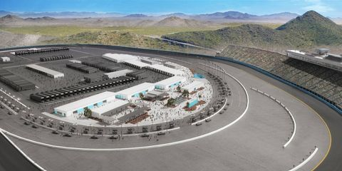 Phoenix Raceway will receive its own version of Daytona Rising over the next two years.