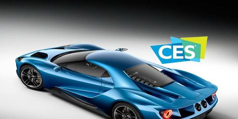 Details of the Ford GT will be unveiled when the super sports car stars at CES.