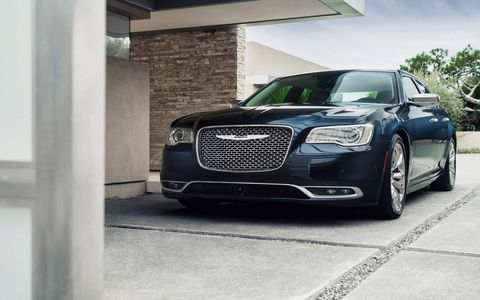The 2015 Chrysler 300C shown here in Platinum trim level