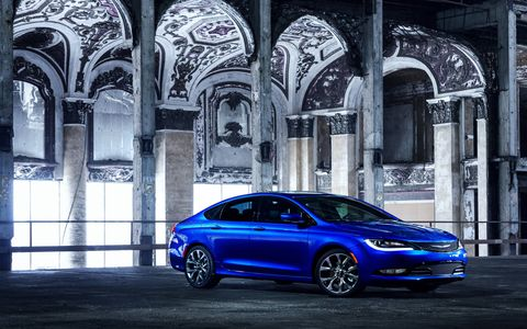 The 2015 Chrysler 200S comes in at a base price of $29,690 with our tester reaching $32,775.