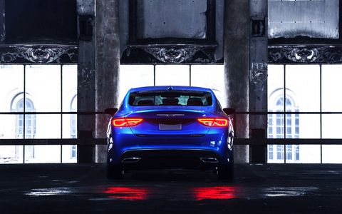 The 2015 Chrysler 200S is a lot of car for the money.