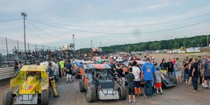The racing continues at Canandaigua Motorsports Park -- two years after a young racer was killed in an accident that involved a three-time NASCAR Sprint Cup champion.