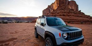 The Jeep Renegade Commander debuted at the Easter Jeep Safari.