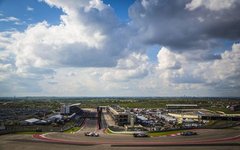 Circuit of the Americas in all its racing glory on Saturday.