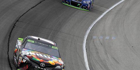 Kyle Busch led a race-high 85 laps Sunday.