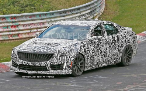 Considering the current output of the CTS-V, it wouldn't be surprising if the next generation made close to 600 hp.