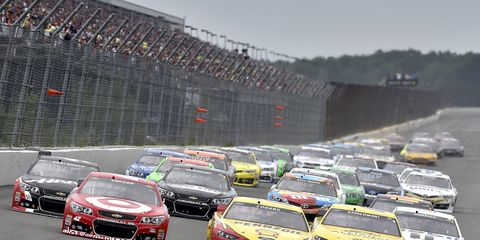 NASCAR announced its 2015 schedules on Tuesday.