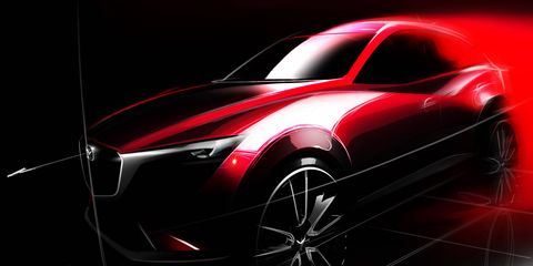 Mazda will introduce the CX-3 at the Los Angeles Auto Show.
