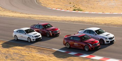 A two-day driver training program at Spring Mountain Motor Resort outside of Las Vegas will be included with the purchase of any 2017 ATS-V sedan or coupe or CTS-V sedan.