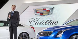Johan de Nyscchen was recently relieved of his duties at Cadillac.