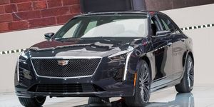 Cadillac showed off the CT6 V-Sport at the New York auto show earlier this year.