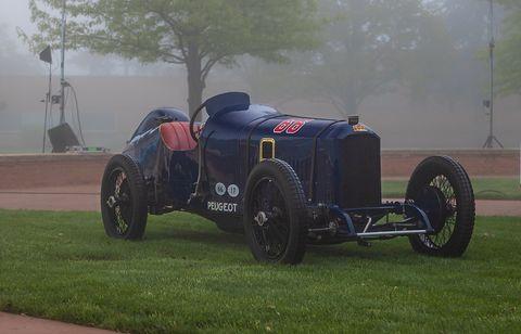 1914 Peugeot L45 Grand Prix car