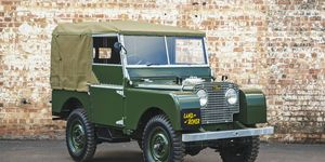 Land Rover Classic will offer 1948-spec 4x4s in a range of vintage colors.