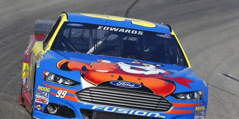 Carl Edwards is comfortably in the Chase field heading into Saturday night's race at Richmond.