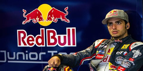 Carlos Sainz Jr. will get his first race action in Formula One with Toro Rosso in 2015.