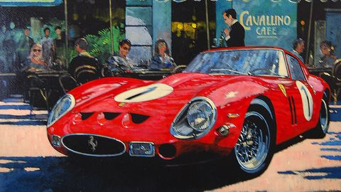 Cavallino Cafe, by Barry Rowe.