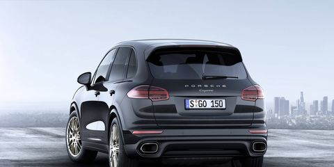 The Porsche Cayenne Platinum Edition goes on sale later this year with a handful of exclusive options.