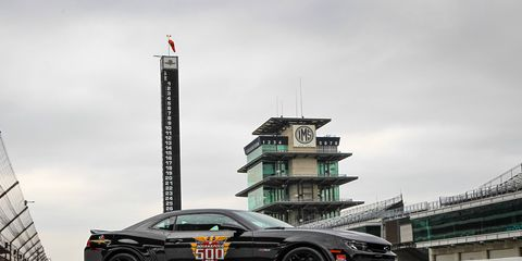 The 2014 Indianapolis 500 pace car.