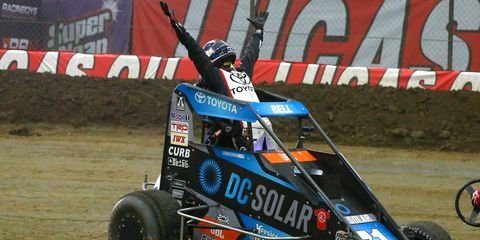 Christopher Bell won the Chili Bowl and competed in his fourth consecutive A Feature in Tulsa.