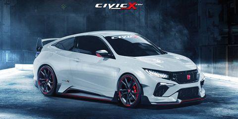 CivicX.com and Wild Speed rendered this Civic Type R