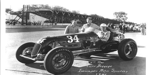 In 1941, Cliff Bergere became the first driver in the history of the Indy 500 to finish the race without a pit stop.