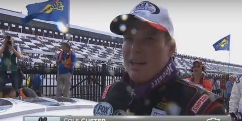 Cole Custer replaced Chase Elliott on one line in the ARCA Racing Series record book at Pocono Raceway.