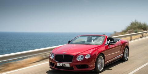 The V8 Continental only has 50 hp less than its W12 stablemates.