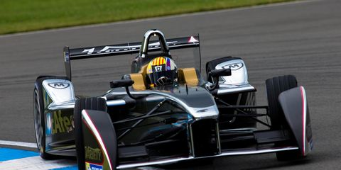 IndyCar veteran Mike Conway has been testing the Formula E car for Dragon Racing.