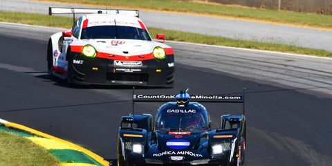 Cadillac finished 37th at Petit Le Mans, but had more than enough points for the Prototype title.