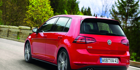 VW offers models like the Golf GTD in Asia's second largest diesel market.